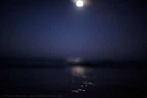 © Christian Mushenko, dusk, seascape, full moon rising, fine art, Sydney Photographer, beach