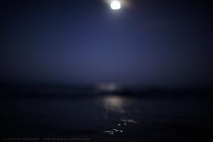 © Christian Mushenko, dusk, seascape, full moon rising, fine art, Sydney Photographer, beach